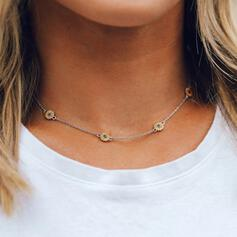 Simple Sunflower Alloy Necklaces