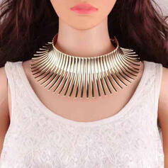 Exotic Alloy Necklaces