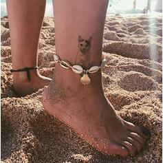 Stylish Cool Alloy With Shell Anklets
