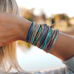 Colourful Boho Alloy Braided Rope Bracelets