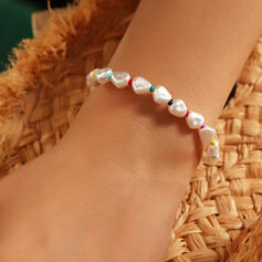 Simple Elegant Imitation Pearls Bracelets