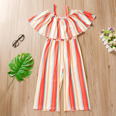 Baby Girl Striped Jumpsuit