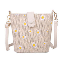 Classical/Girly/Bohemian Style/Floral/Braided Crossbody Bags/Shoulder Bags/Bridal Purse/Beach Bags/Bucket Bags