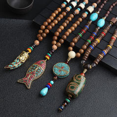 Beautiful Lovely Exotic Ceramic With Resin Necklaces