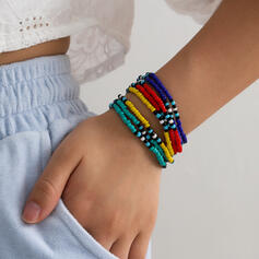 Boho Layered Beads Bracelets 4 PCS