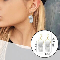 Stylish Alloy Beads With Toilet Paper Earrings (Set of 2)