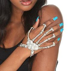 Skeleton Halloween Alloy Bracelets