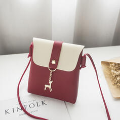 Cute/Shell Shaped/Splice Color Crossbody Bags/Shoulder Bags