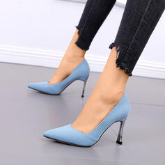 Women's PU Stiletto Heel Pointed Toe With Others shoes