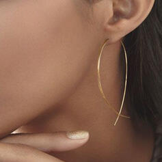 Le plus chaud Alliage Boucles d'oreilles (Lot de 2)