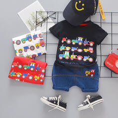 2-pieces Baby Boy Streetwear Cotton Set