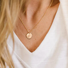 Vintage Simple Alloy With Coin Necklaces