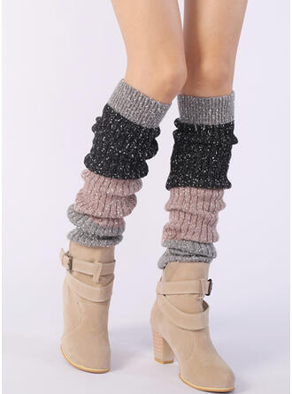 Solid Color/Stitching Warm/Breathable/Comfortable/Leg Warmers/Boot Cuff Socks Socks/Stockings