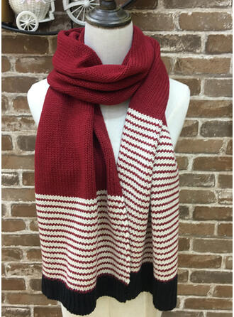Solid Color/Stitching fashion/simple Scarf