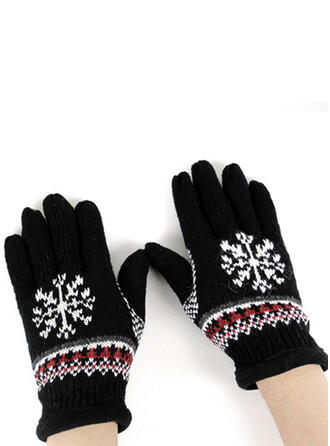 Floral/Christmas simple/Full Coverage/Christmas Gloves