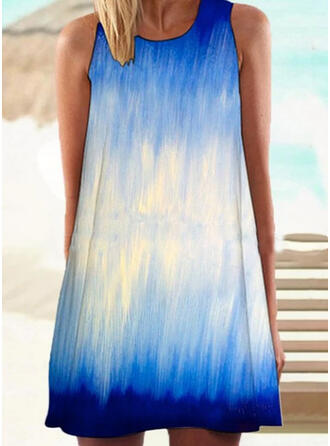 Splice color High Neck Colorful Eye-catching Cover-ups Swimsuits