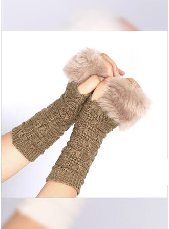 Striped/Retro/Vintage simple/Cold weather Gloves