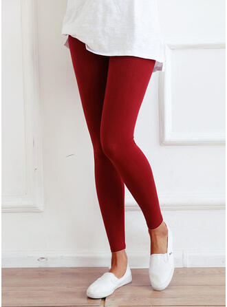 Solid Long Elegant Sexy Yoga Leggings