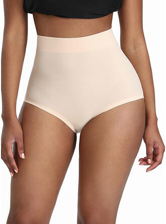 Polyester Cotton Nylon Chinlon Plain Shapewear