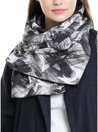 Floral/Print simple/Women's Scarf