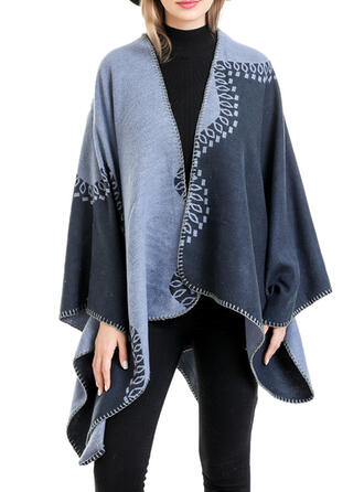 Floral/Print simple/Women's Shawl