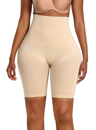 Spandex Nylon Chinlon Plain Shapewear