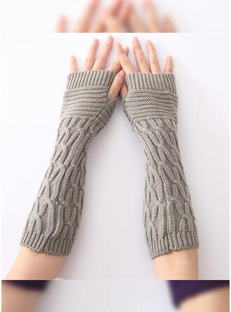 Solid Color/Crochet fashion/Comfortable Gloves