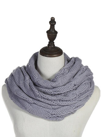 Solid Color/Crochet Neck/fashion/Multi-functional Scarf