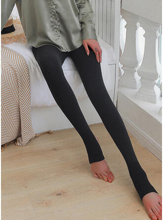 Solid Long Elegant Sexy Leggings