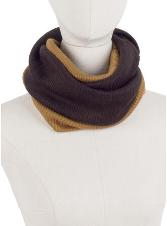 Solid Color/Stitching Neck/Light Weight/Multi-functional Scarf